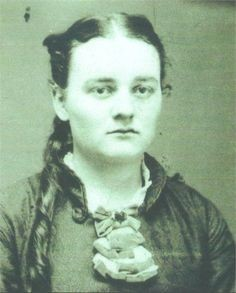 Hetty Green as a young woman