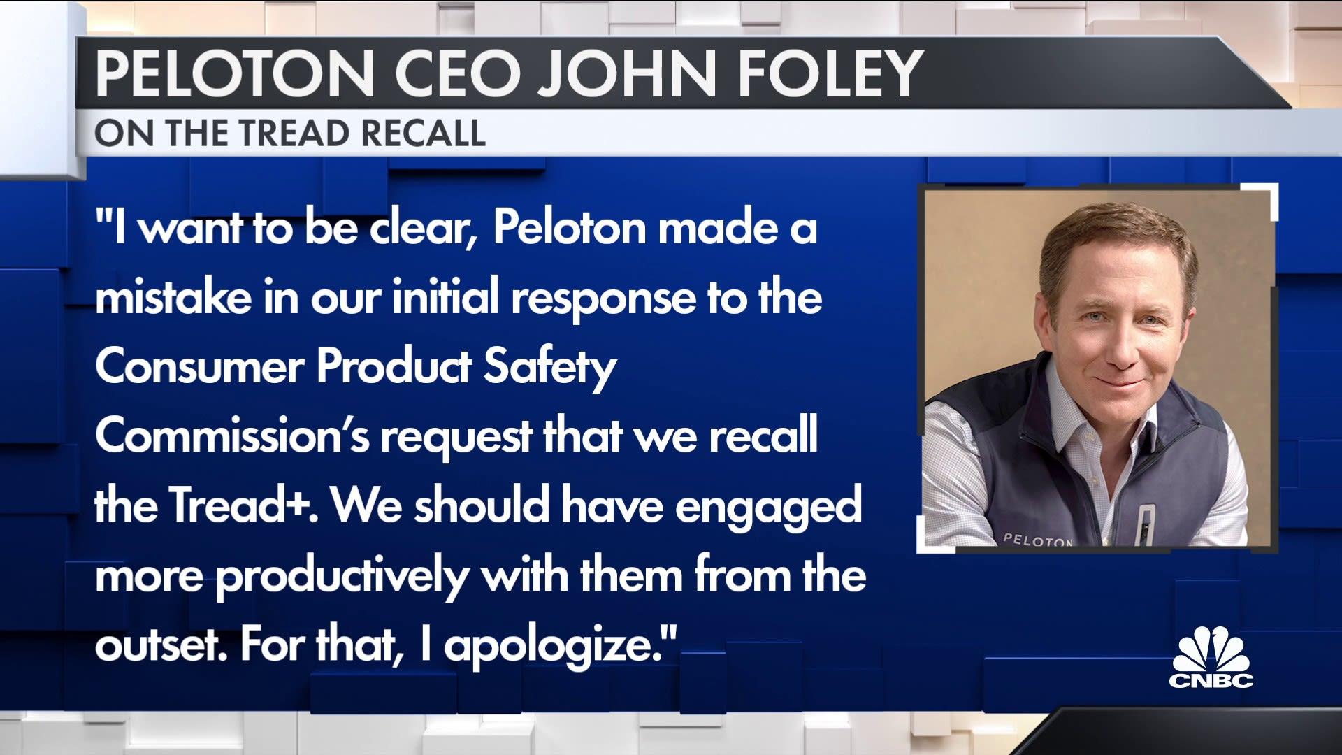 Words by Peloton CEO John Foley